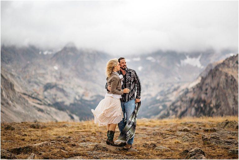 rocky mountain national park photographer | trail ridge road anniversary session